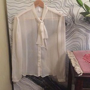 American Apparel Chiffon blouse
